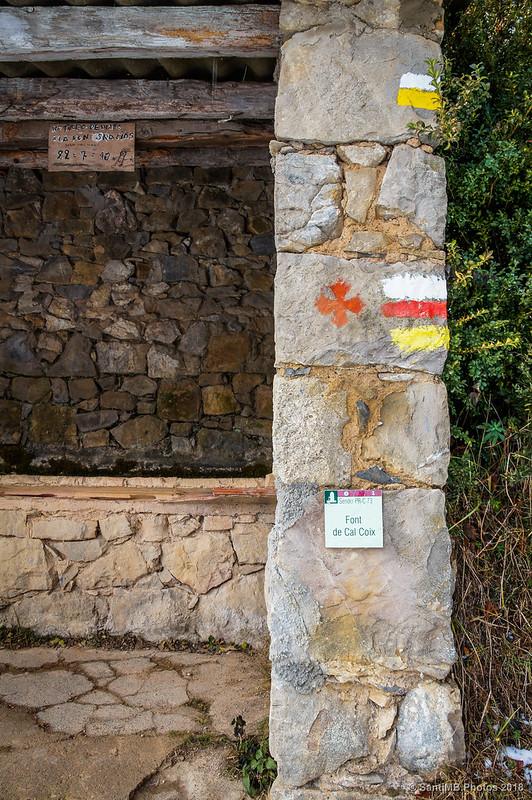 Font de Cal Coix en Peguera
