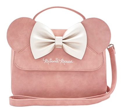 pink minnie mouse purse loungefly