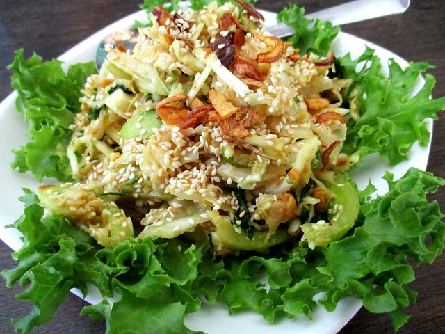 Payung Cafe fungus salad