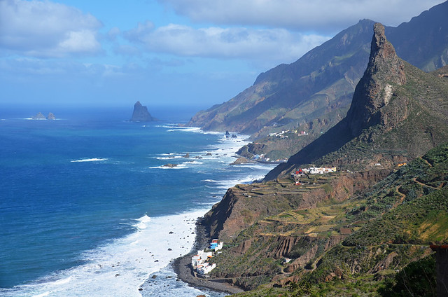 Taganana coast from Afur route, Anaga, Tenerife