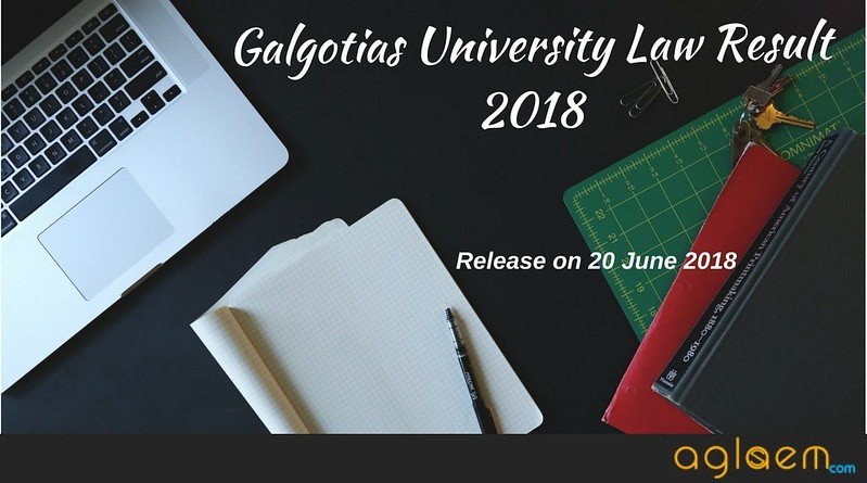 Galgotias University Law Result 2018 (GU LSAT)