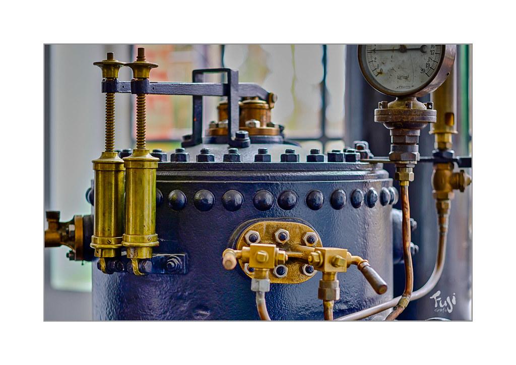 Dampfkessel | Alter Dampfkessel aus dem 19. Jahrhundert, die… | Flickr