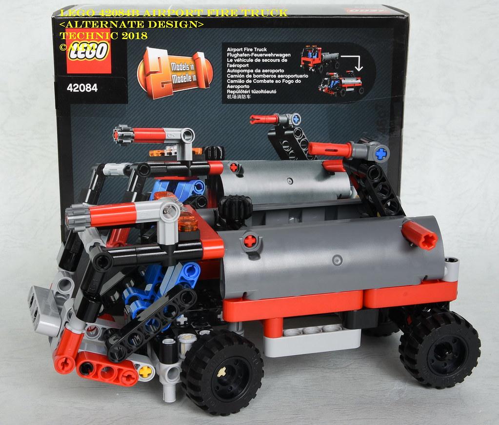 Aeroporto Lego : Lego b airport fire truck lego b airport fire tru flickr