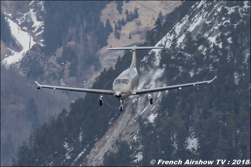 Pilatus PC-12/47E - Jetfly Avaition , Fly Courchevel 2018 - Altiport Courchevel , Meeting Aerien 2018