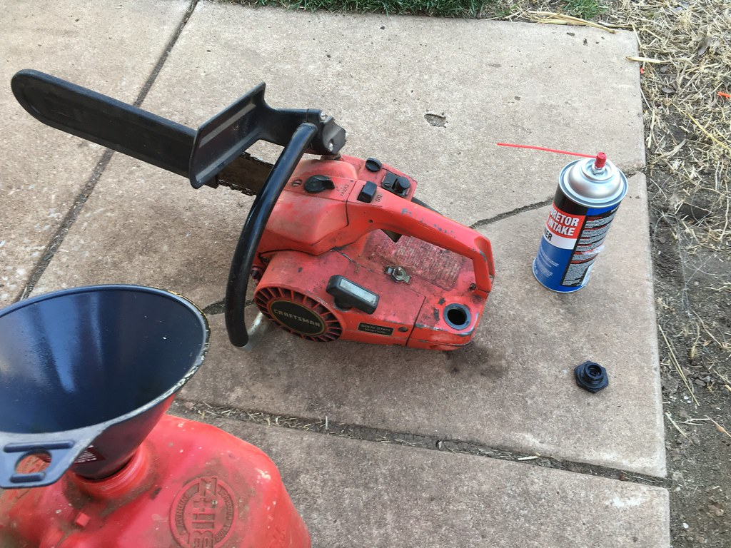 Vintage chainsaw project - Craftsman 2 3 - The Lawn Forum