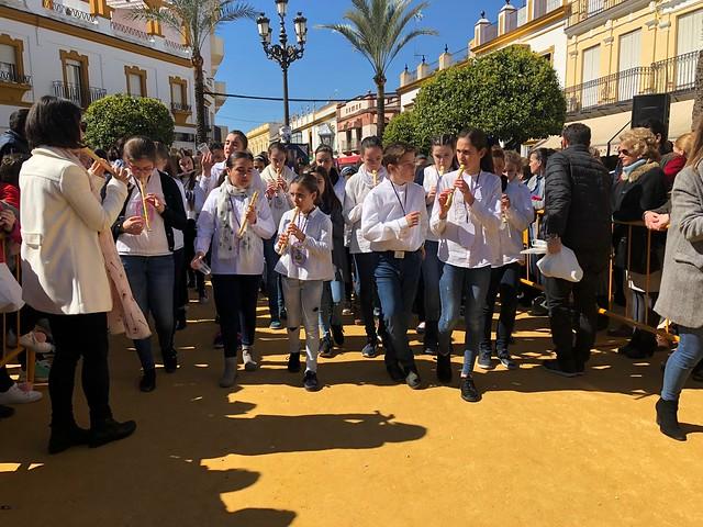 AionSur 40957629761_7b0cd9f0bc_z_d El colegio de San Roque dedica su cofradía infantil a Gabriel Cruz Educación Semana Santa