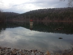 Berry College Reservoir From Dam