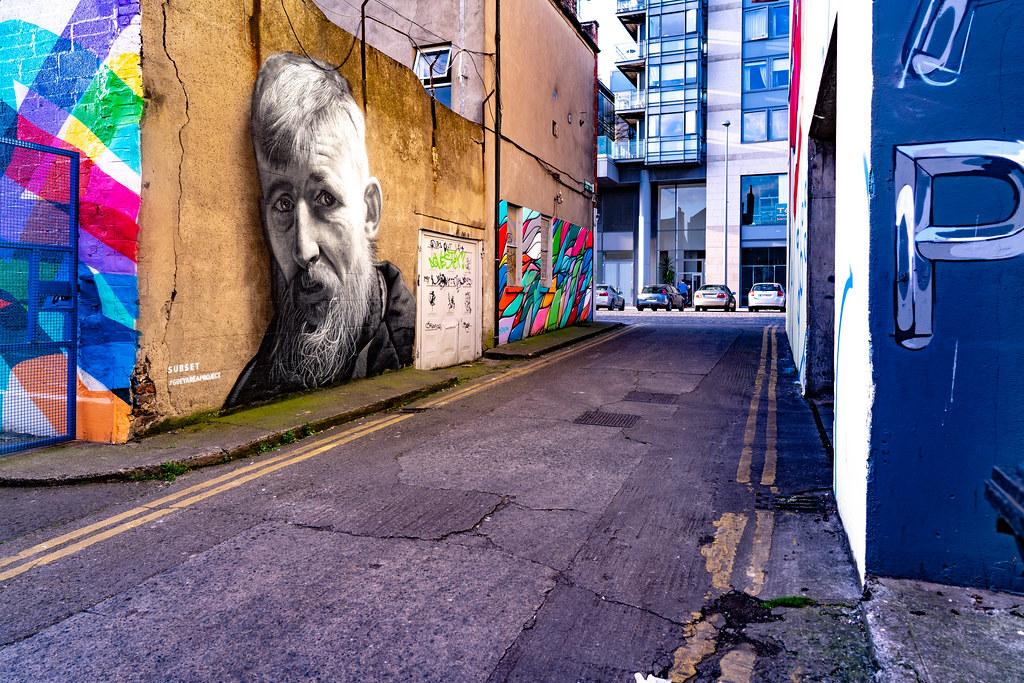 DUBLIN STREET ART IN SMITHFIELD [BURGESS LANE - HAYMARKET] 007