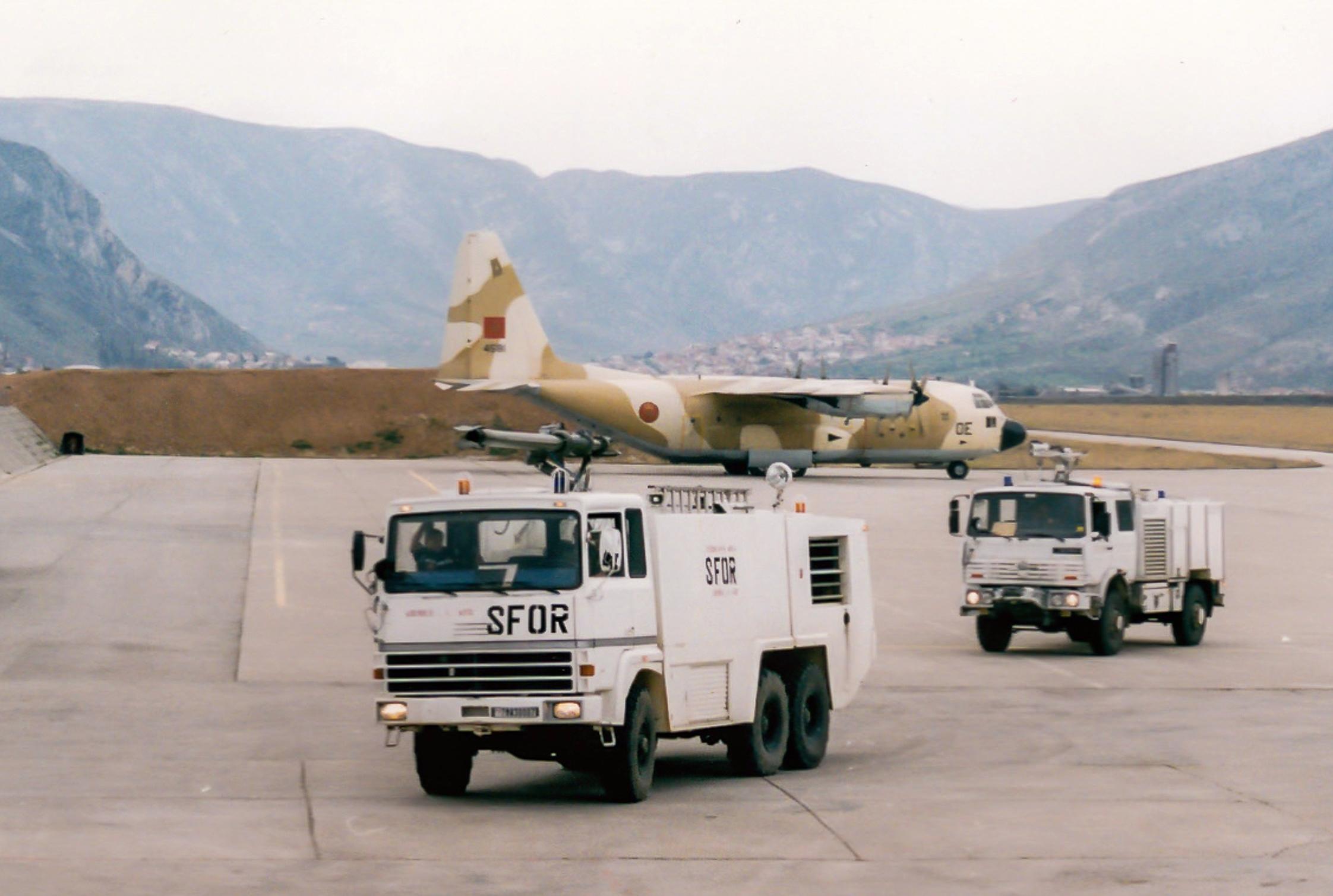 Les F.A.R. en Bosnie  IFOR, SFOR et EUFOR Althea 41102992432_02301c1a24_o