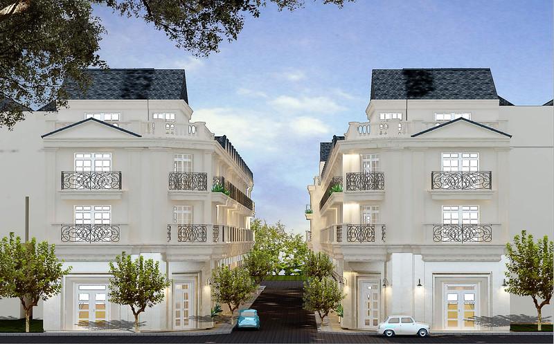 Thiết kế nhà phố đường Bùi Tư Toàn của CĐT MDLand