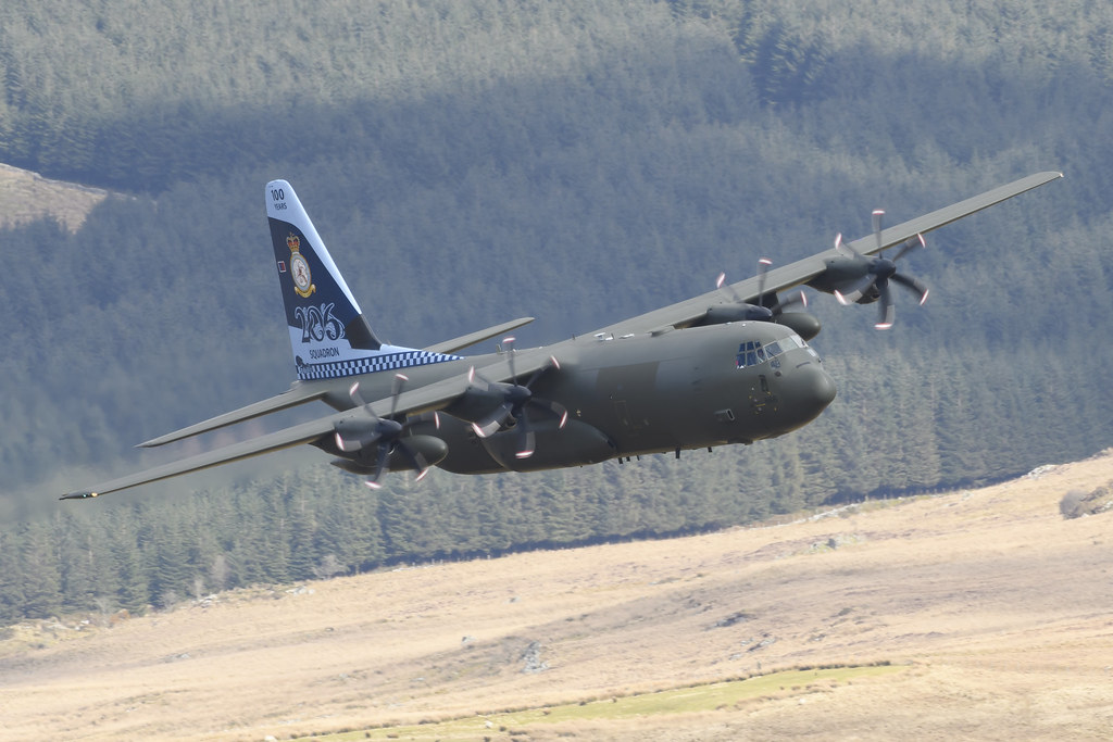 The C 130 Hercules Tactical Transport Aircraft Is Workhorse Of RafÕs Air