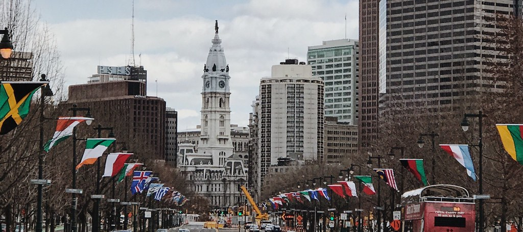 Philadelphia's Avenue of the Flags