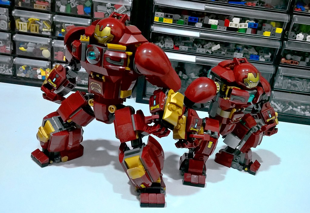 Infinity War Hulkbuster Did Some More Modifications To