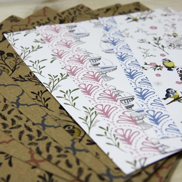 StickerKitten Bird Garden designer paper pack - beautiful paper for card making