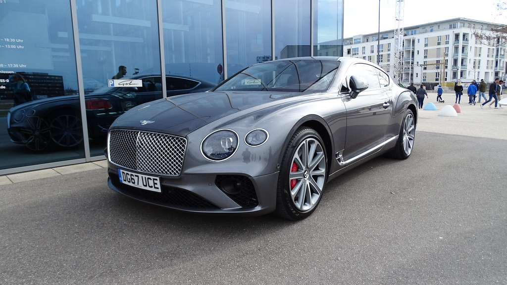 Bentley continental gt, 2018