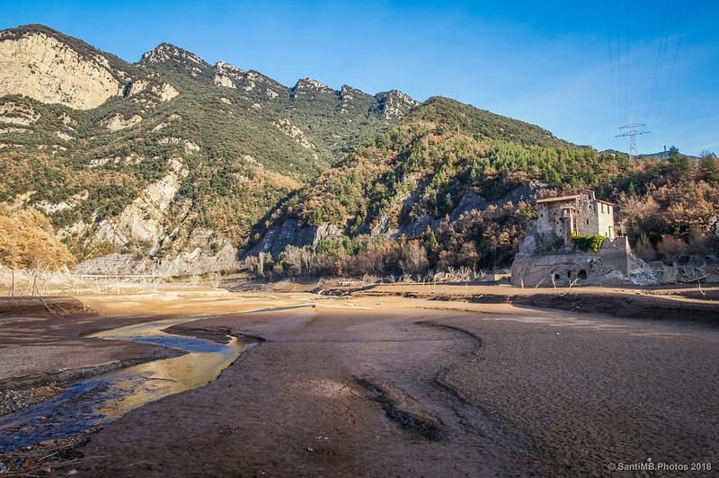 El Llobregat y Sant Salvador de la Vedella