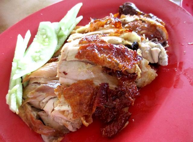 Chopsticks roast chicken