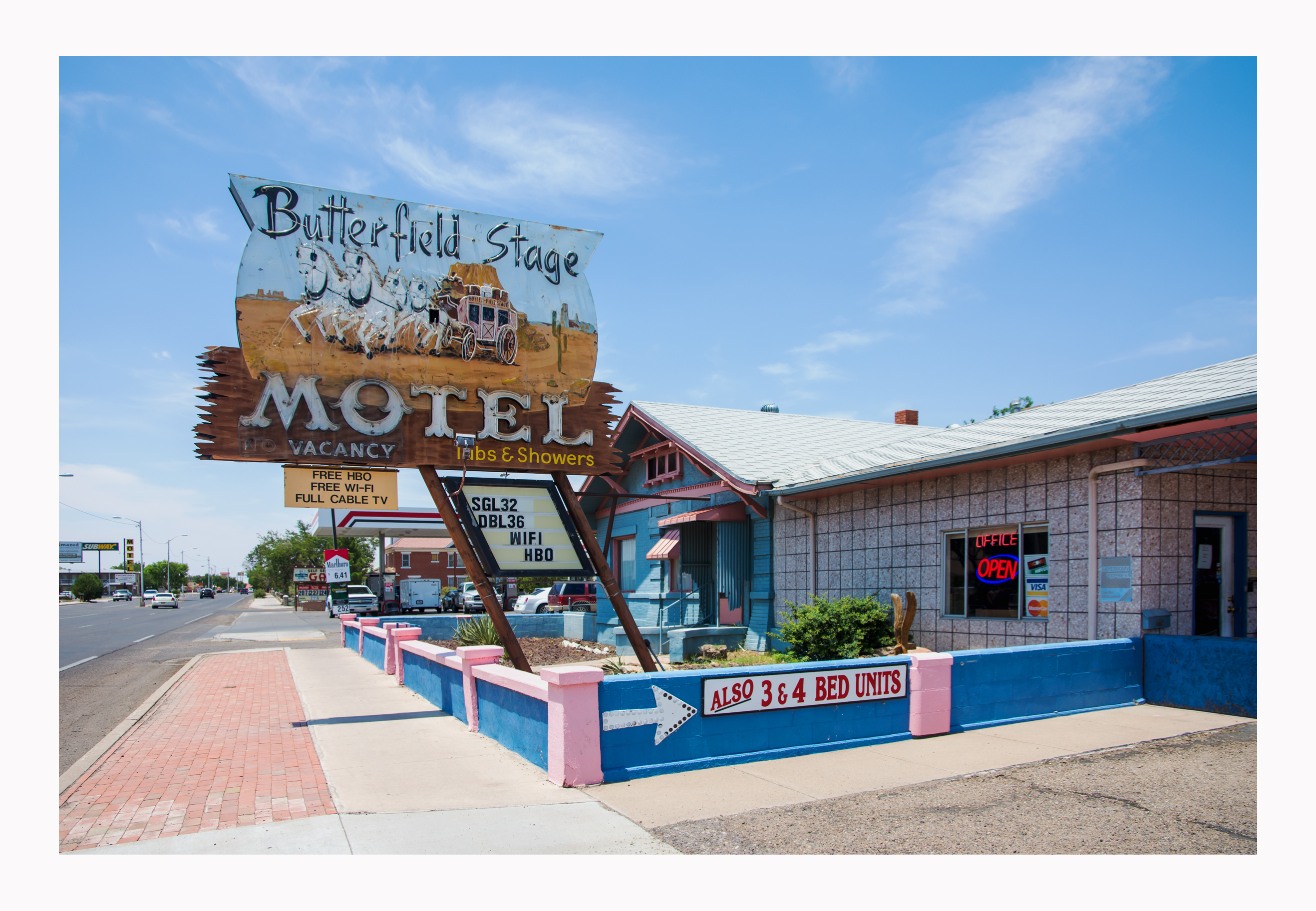 Butterfield Stage Motel - 309 West Pine Street, Deming, New Mexico U.S.A. - July 28, 2016