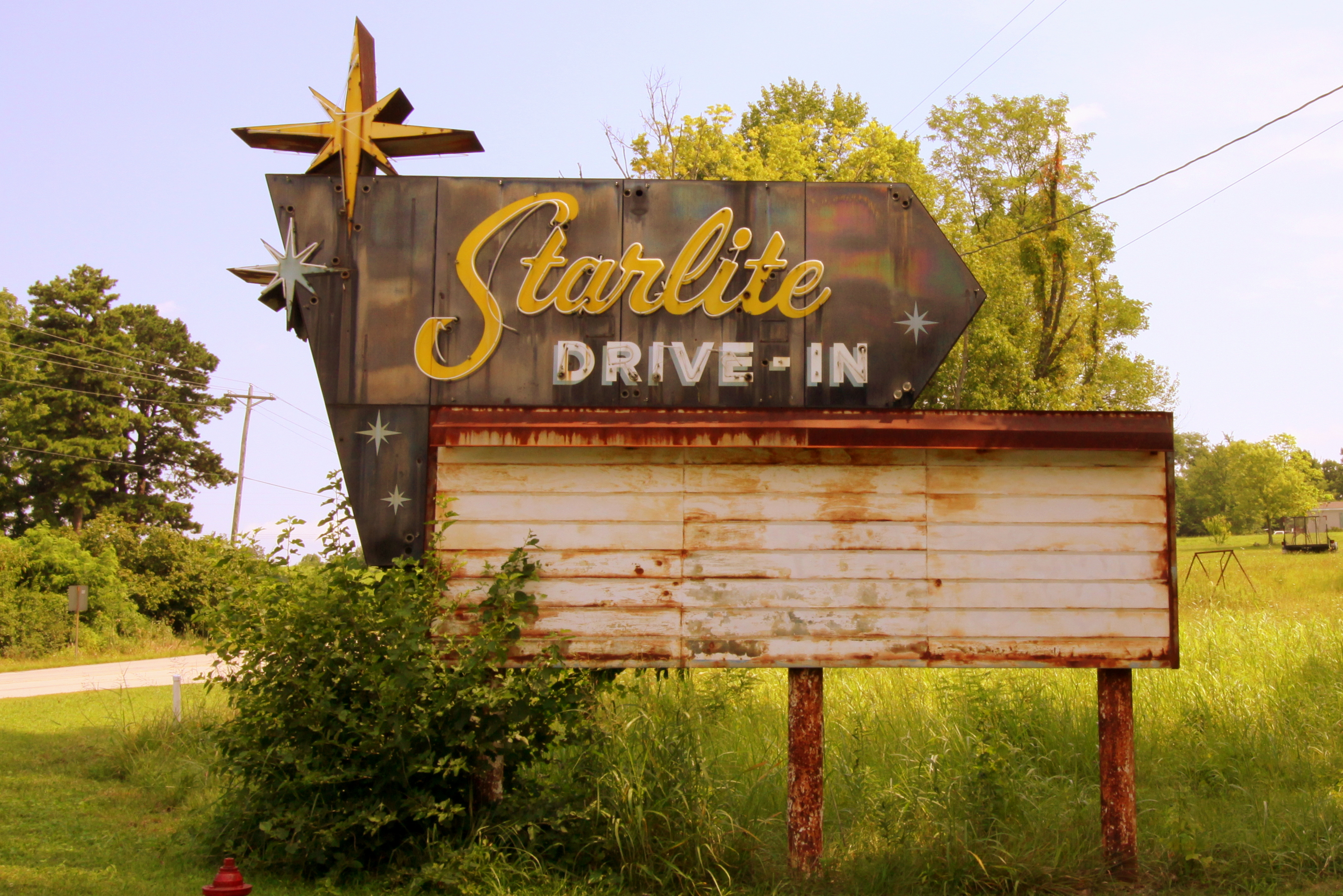 Starlite Drive-In - Tell City, Indiana U.S.A. - July 24, 2017