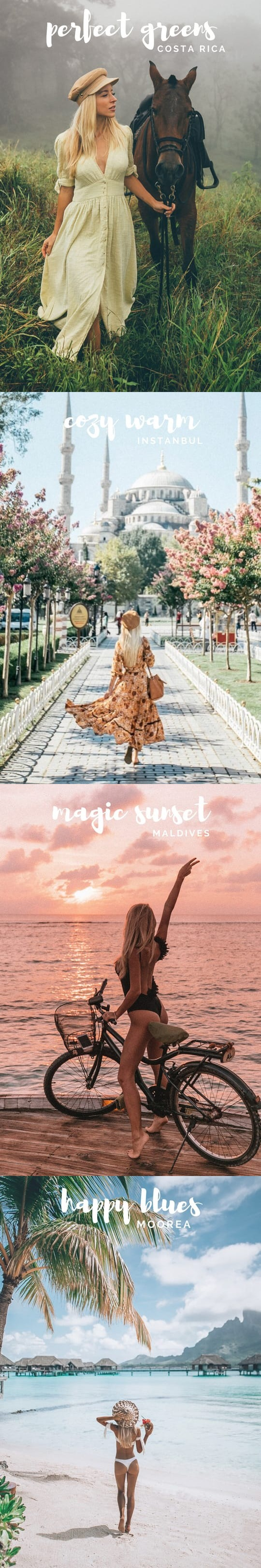 Travel In Her Shoes Cozy Warm LR Presets | Fonts, Graphics