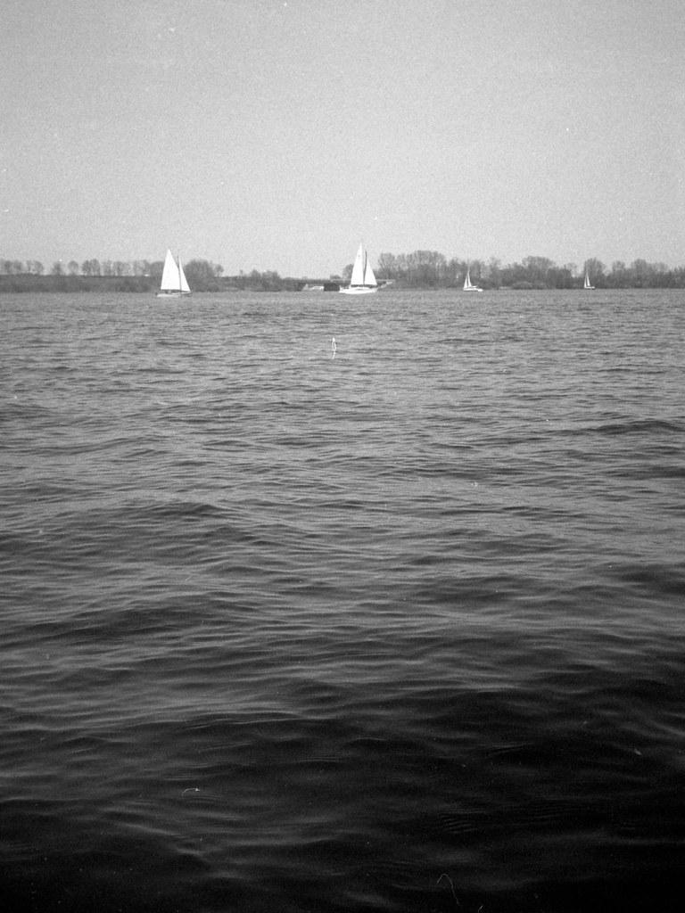 Sailing Day Olympus Pen Ee 2 Half Frame Camera Ilford