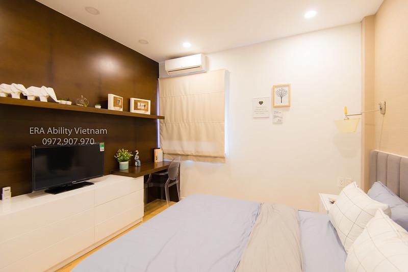 Phòng ngủ Tầng 2 nhà mẫu shophouse River Park quận 9