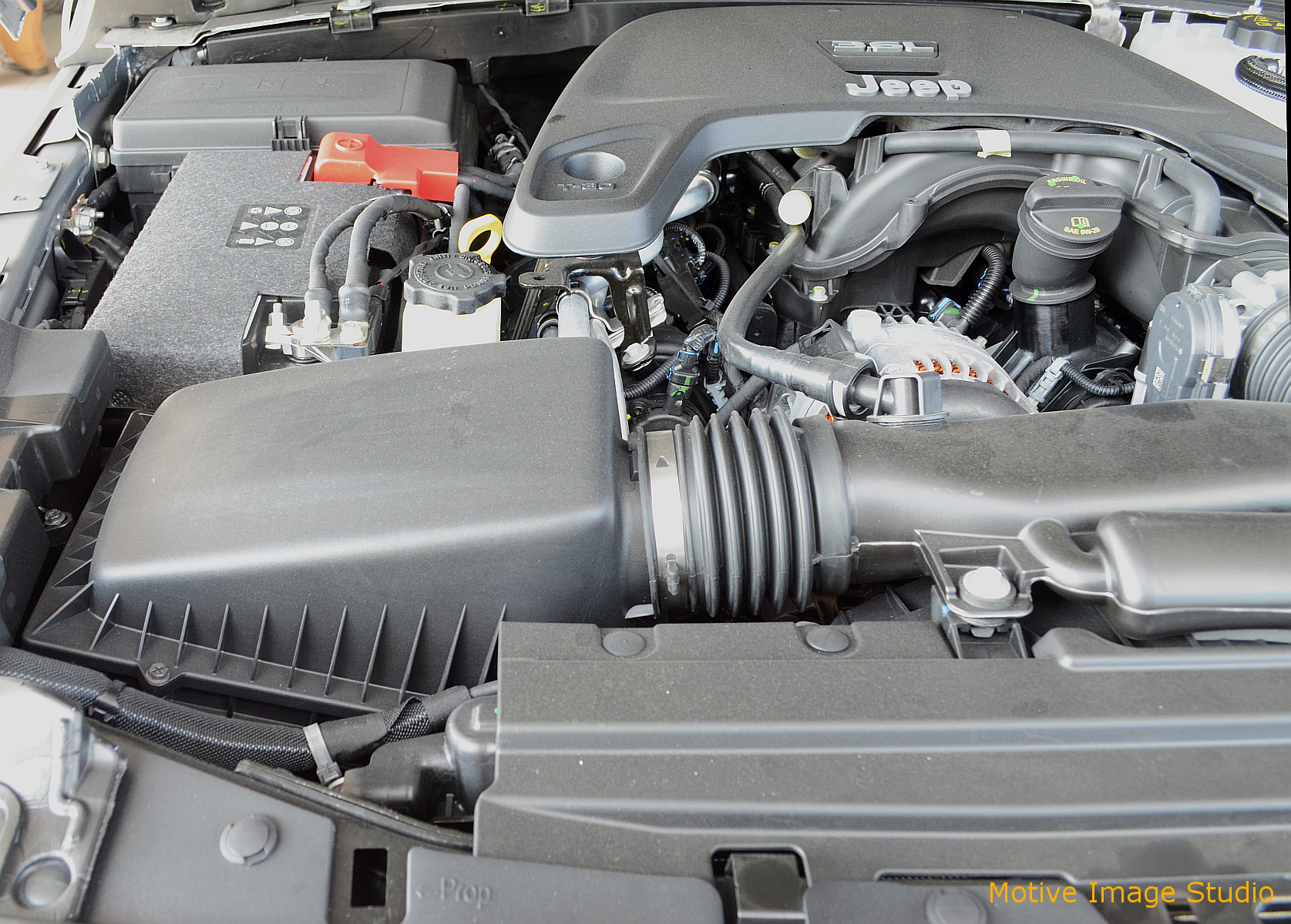 Jeep Jk Engine Bay