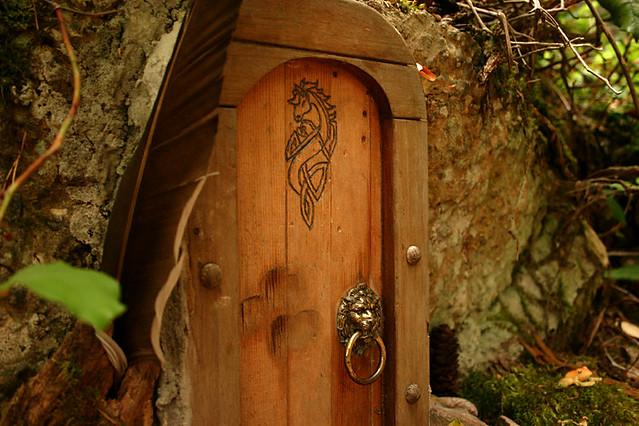 Faerie door taken on mt erskine salt spring island for The faerie door