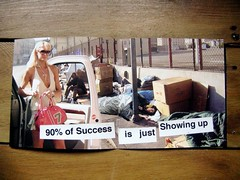 90% of Success is just Showing up