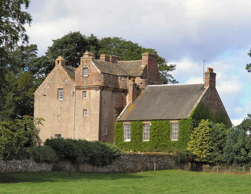 Balbegno Castle Kincardineshire Balbegno Is A Handsome