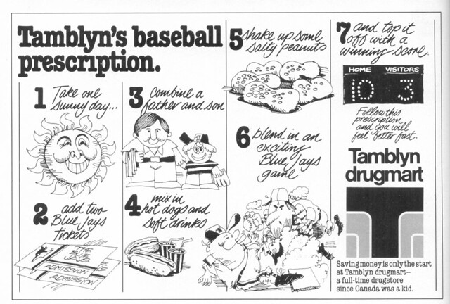 Vintage Ad #58 - Tamblyn's Baseball Prescription