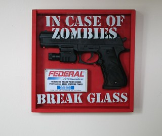 In case of zombies... | by Drunken Monkey