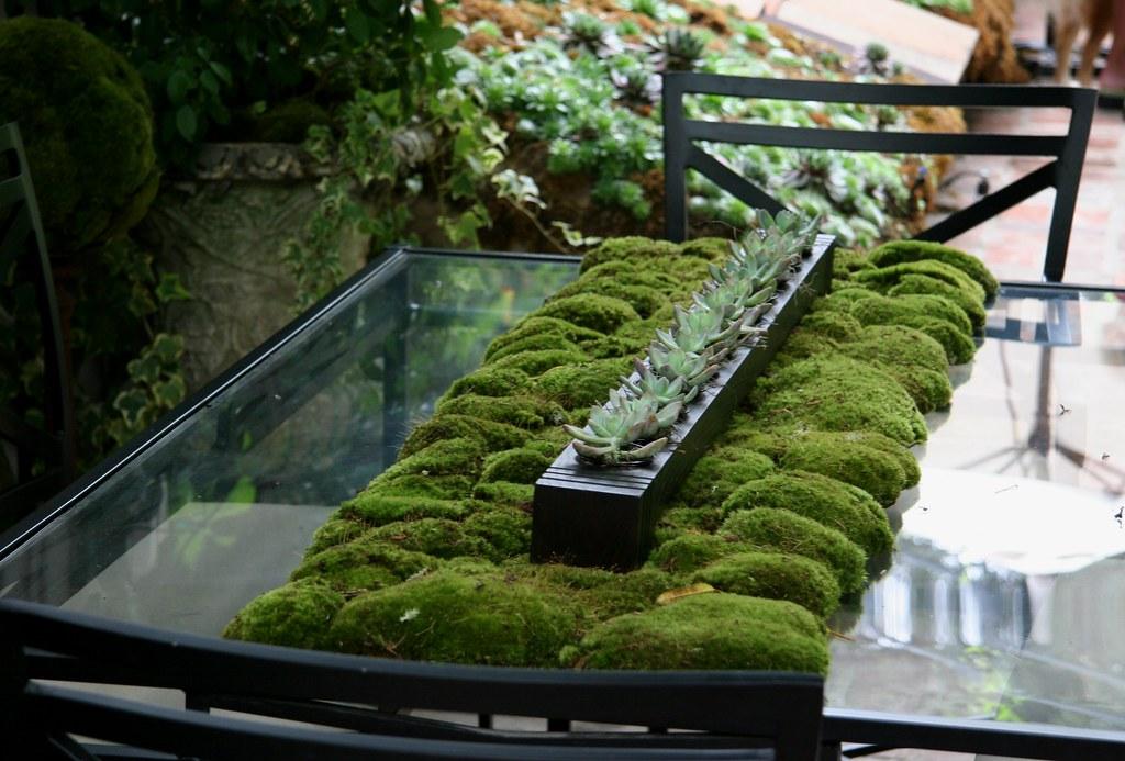 Moss Table Heather Lenkin Garden Lenkin Design Lenkin