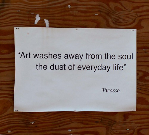 Art Washes Away from the Soul... | by cobalt123