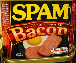 Spam, Now with Real Bacon! | by cobalt123