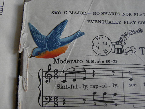 vintage children's sheetmusic | by luxefibre