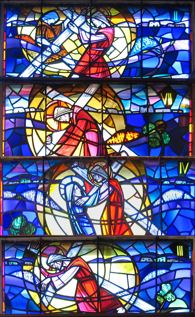 Stained Glass Windows Stations Of The Cross