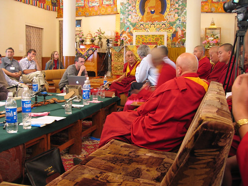 Dalai Lama using a Mac | by tim5021