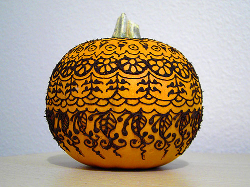 Henna pumpkin one of my favorite things to do every fall