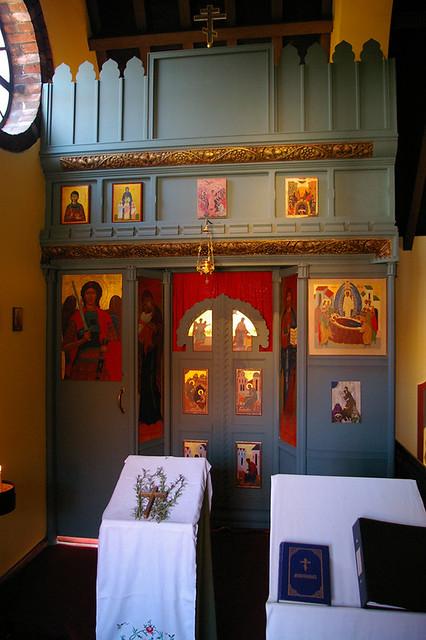 Orthodox Chapel At The Shrine Little Walsingham Norfolk