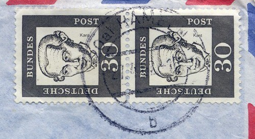 1960s German Stamps And Cancellation