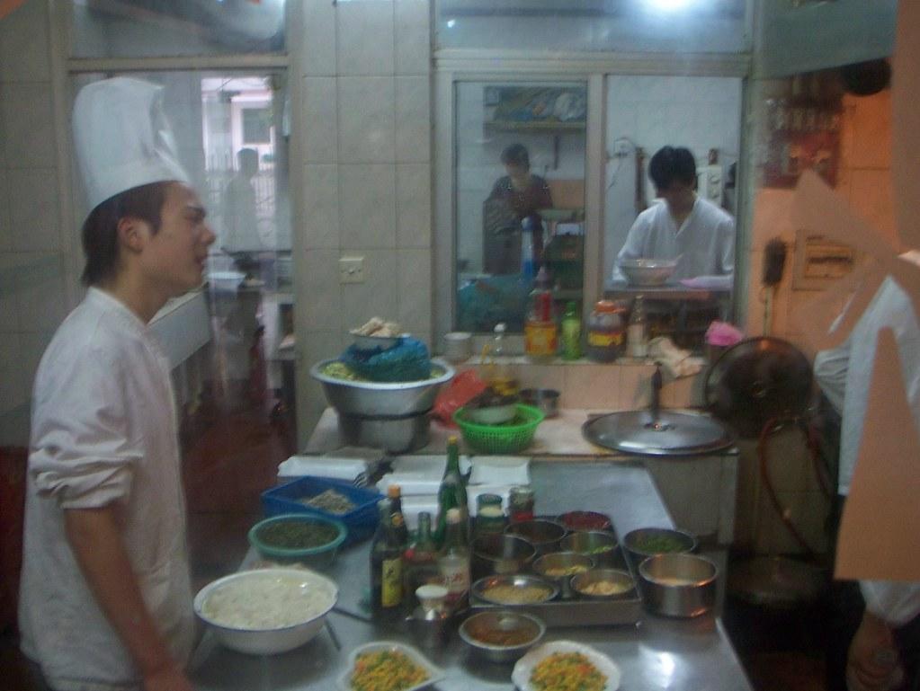 Chinese Restaurant Kitchen Floor Plan