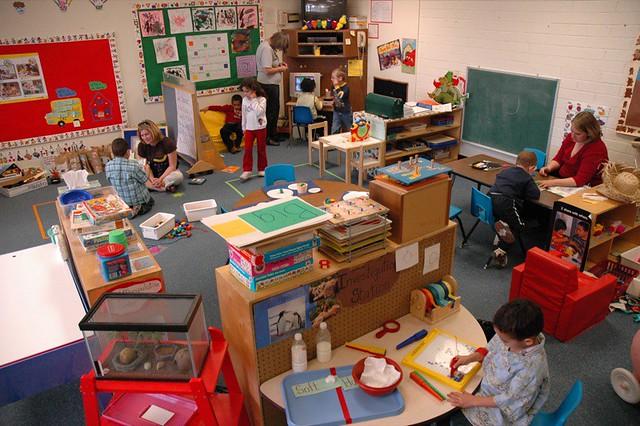 Classroom Design For Special Needs ~ Preschool colors barnaby wasson flickr
