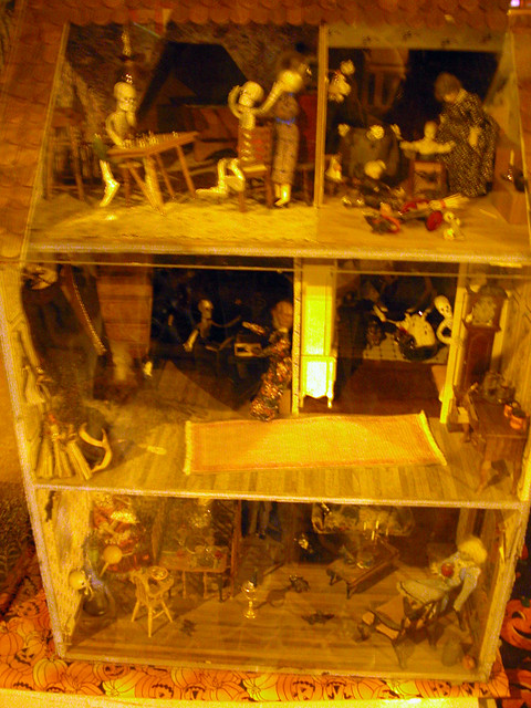Haunted House Doll Room Ideas