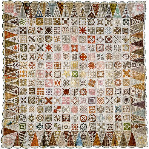 "The quilt ""Dear Jane®"" 