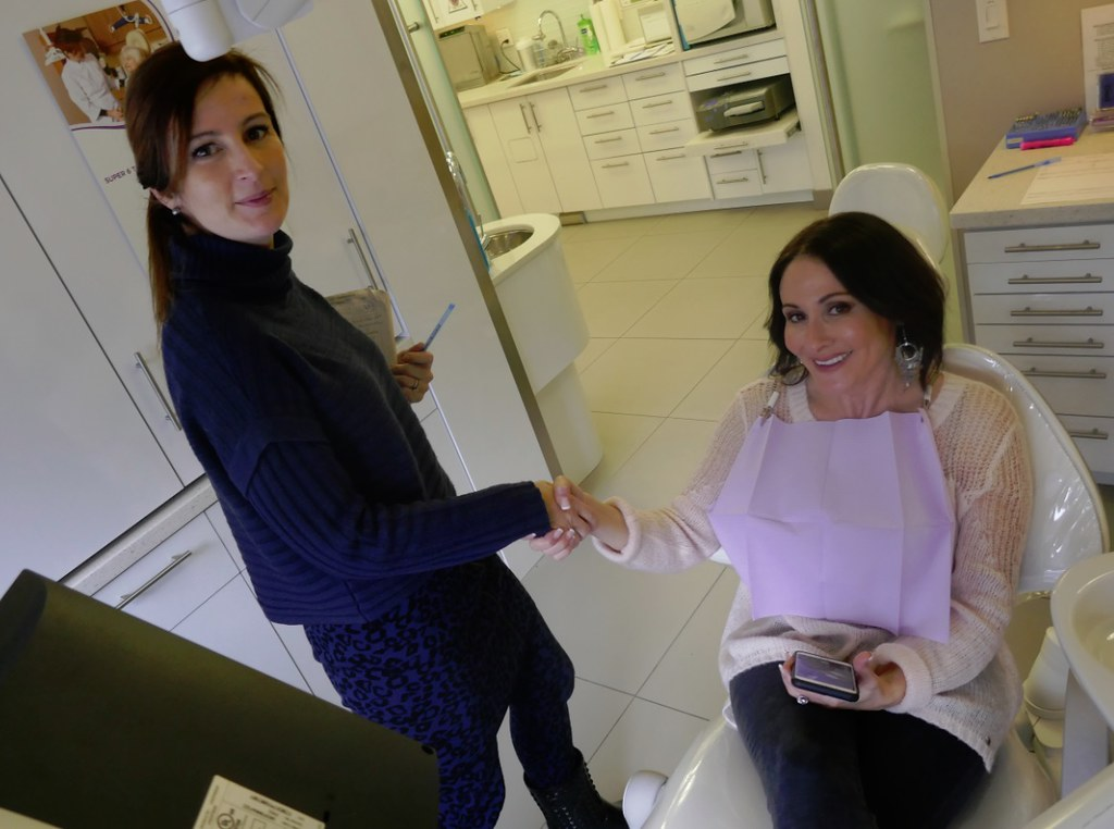 Dr Natalie Archer meets Laura Bilotta at Archer Dental Rosedale