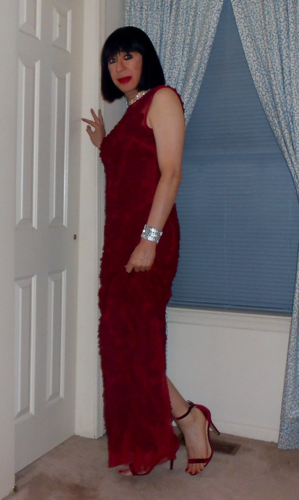 Do these shoes match the red evening gown? | Christina Napoli | Flickr
