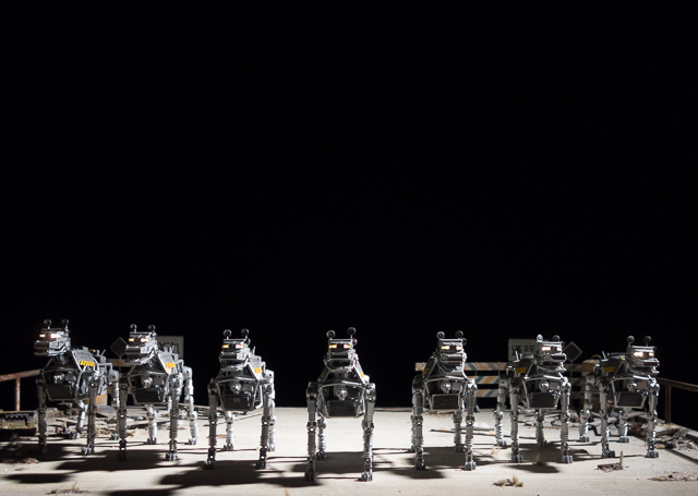 isle of dogs exhibition - robot dogs