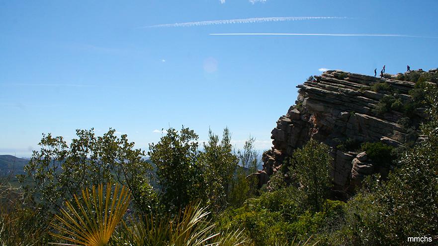 excursión en familia por el Garbí en la sierra Calderona