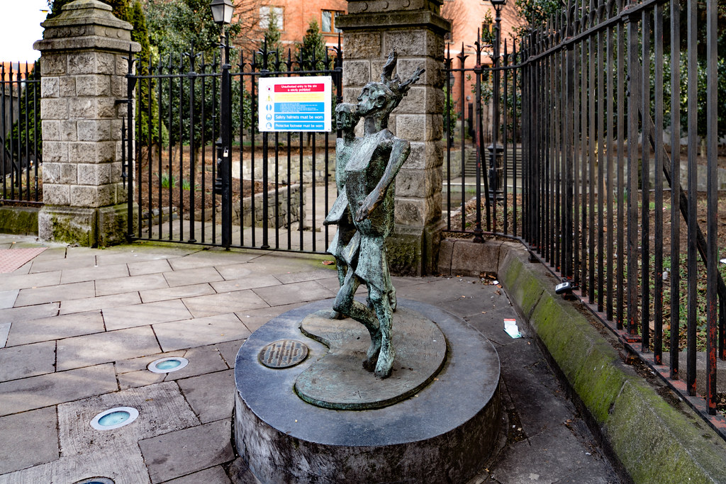CHILDREN OF THE NEW MILLENNIUM BY JOHN BEHAN [NICHOLAS STREET ACROSS FROM CHRIST CHURCH CATHEDRAL] 003